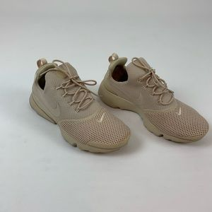 Nike Womens Presto Fly Sneakers-Oatmeal Color.